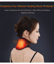 Het Verwarmen van de nano-Energie van Graphene het Polymere Product van de Zorg van de Hals Bescherming Verwarmde