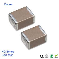 0603 SMD Multilayer Ceramic Capacitor 103K50V