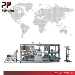 Caixa de plástico biodegradável PS PVC Pet PLA alimento Frutas Produtos hortícolas Clamshell Sushi Embalagem Termoformação formando fazendo a máquina