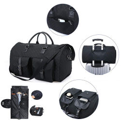 Prenda de vestir traje de Duffel Bag Bolso plegable Bolsa de Ropa de moda de viajes