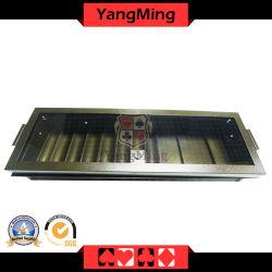 Fabrik-direkter Zubehör-einlagiger Metallschürhaken-UVkasino-Chip-Tellersegment mit Verschluss Ym-CT20