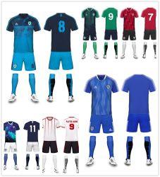 Sommer-Mann-Fußball-Jersey-gesetzte Fußball-Verein-Jersey-volles Set-Fußball-Uniform