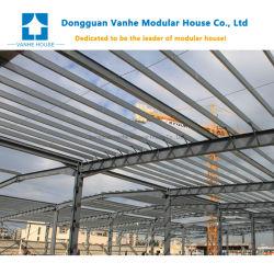 판매에 Prefabricated 강철 구조물 창고 모듈 이동할 수 있는 작업장