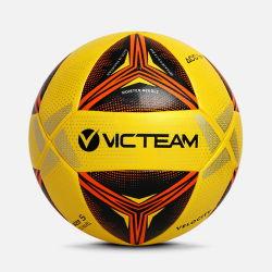Logo personnalisé de la machine de la formation de football cousus Ball