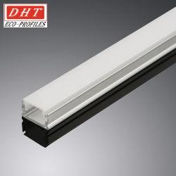 Coperture lineari del policarbonato rispettoso dell'ambiente per l'indicatore luminoso del LED con i profili di alluminio dell'espulsione