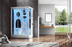 SPA vapor OEM de vapor de la luz de colores cuarto de baño con bañera de Escocia