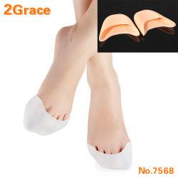 Silicone pads de la TOE Mesdames Ballet couverture de soins de pointe de protection des pieds