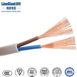 Cavo elettrico cavo PVC isolato guaina flessibile guaina in PVC per fissaggio Cavo piatto per cablaggio