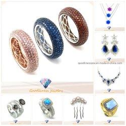 Мода украшения 925 серебристые или латунной кубический циркон кольцо, подвесная, ожерелья, серьги, браслет и Bangle, ювелирные украшения,