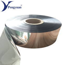 Feuilles en PET métallisées en rouleau pour le matériel de conditionnement