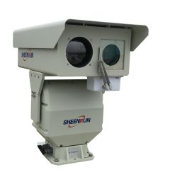 듀얼 스펙트럼 적외선 열 챔버 PTZ 열 카메라
