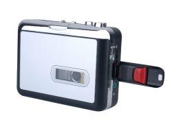 محول شريط كاسيت مشغل أقراص USB Walkman® لتحويل الشريط التناظري الموسيقى التي يجب أن تكون MP3 حفظ موسيقى MP3 الرقمية في USB مسجل محول مشغل حافظة الشريط بالفلاش