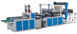 Camada Dupla Automática Completa quatro linhas T-shirt plástico bag fazendo a máquina