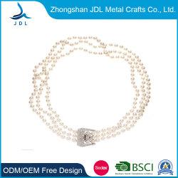 Природные Pearl Shell подвесная цепочка мода украшения латунные цепочка (14)