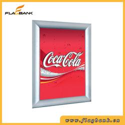 A1 и A2, A3, A4 в серебристом алюминиевом корпусе раунда на дисплее угловой стойки плакат/Snap рамы