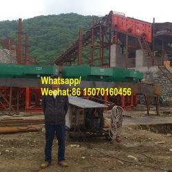 A gravidade de equipamentos de mineração de ouro aluvial Gabarito de concentração de estanho