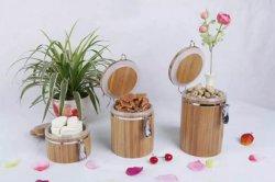 Contenitore di bambù della guarnizione del POT della guarnizione di tenuta del contenitore della guarnizione di /Sugar/Tea del caffè