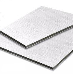 2000mm de largura, cor da luz Series decorações interiores em Alumínio composto/painel de alumínio