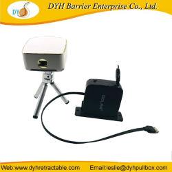 Micro USB van de Kabel van de Spoel USB van de Lader van China de Leverancier Vervaardigde Opvlammende Intrekbare voor Mobiele Telefoon