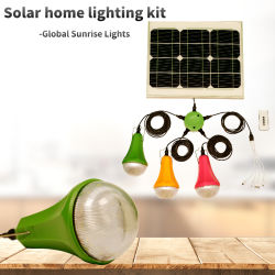 2020 neue bewegliche Solar-LED Hauptbirne, Solar Energy System, Solarbeleuchtung