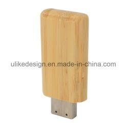 Madeira Unidade Flash USB Pendrive Custom logotipo estampado melhor presente de promoção disco flash USB com embalagem Caixa de madeira