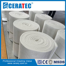 Manta de Isolamento térmico MSDS CT 128 kg/m3 China Fibra Cerâmica