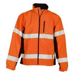 겨울 동안 방수 형광성 재킷 Mens