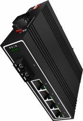 4 порта Gigabit St промышленного Ethernet Poe