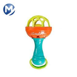 Moldeo por inyección de plástico para el bebé de juguete el traqueteo de la vibración del anillo de campana