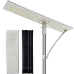 Fonctionnement simple rue lumière solaire antidéflagrants 180 lm/W 200 Kw