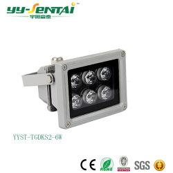 IP65 단일 튜브가 장착된 고효율의 실외등 6W/12W/20W/24W/30W/36W/48W LED 투광등