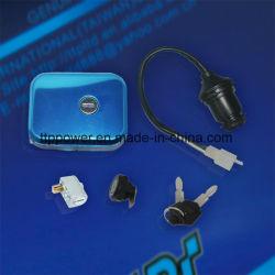 Bajaj Boxer/Bm100 قطع غيار الدراجات البخارية مفتاح التشغيل ضبط قفل الدراجة البخارية