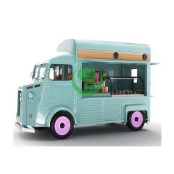 Camion elettrico d'acciaio mobile dell'alimento di Citroen da vendere