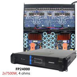 Sinbosen Fp24000 Professional 2 Canales de 10000 Vatios Amplificador de Potencia Alta para el Subwoofer de 21 Pulg.