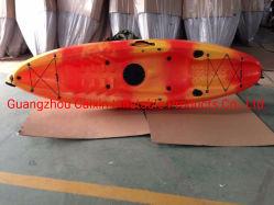 Professional Rotomolded kayak en plastique Kayak de pêche unique