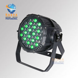 54*3W RGBW DMX pleine couleur étanche PAR LED lumière extérieure