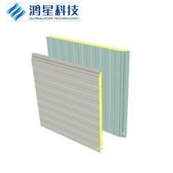 Telhado/suporte de parede/EPS isolados/Rock Lã de Vidro/PU/poliuretano PIR/Placa de espuma do painel do tipo sanduíche para Estrutura de aço/Oficina/Armazenamento a frio
