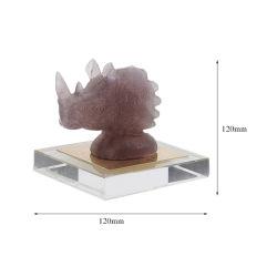 Sculpture de Pierre d'origine Handmade Creative la lumière de l'artisanat des ménages de la décoration de luxe
