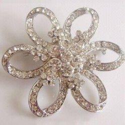 2020 Nuevo Diseño de decoración encanto broches de cristal