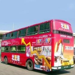 Vinil auto-adesivo de ônibus, mídia de jato de tinta solvente