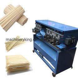 Palitos de madeira da linha de produto churrasqueira Stick fazendo a máquina