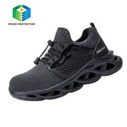 L'été Femmes poids léger de la construction des bottes Steel Toe Cap Chaussures de sécurité