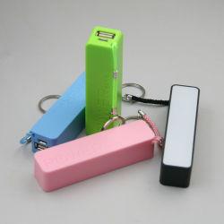 Power Bank draagbare lader met dubbele USB-uitgang en mobiel compartiment