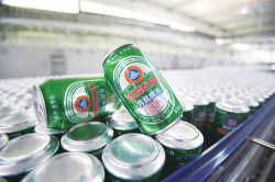 Aluminium Pop CAN Carbonated Soft Drink Filling Packing machine
