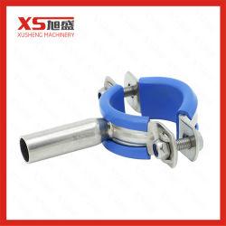 """1-1/2"""" труба из нержавеющей стали Fittngs держатель трубопровода с помощью силиконового герметика синий гильзы"""