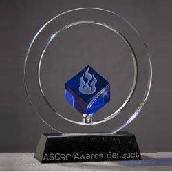 Premio Trofeo de cristal nueva moda