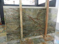 Material de decoração Atlântica Laje de Pedra Mármore verde/quadros/Bancada/Vaidade/Revestimento de parede superior