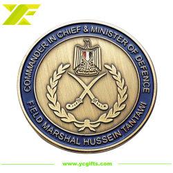 prix d'usine personnalisé de l'émail doux en alliage de zinc métal Art Défi Coin des pièces de monnaie pour les souvenirs militaires (CO40)
