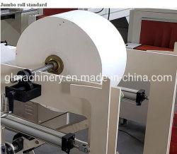 Solo el grabado e impresión de alta velocidad de la servilleta la conversión de la carpeta de la máquina