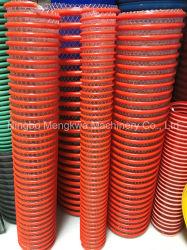 O PVC reforçados rígido flexível do tubo de sucção Coxim Extrusor /Espiral máquina de fazer do tubo de PVC